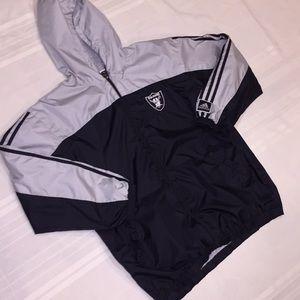EUC Adidas Raiders Vintage Raiders Jacket 🔥🔥$11
